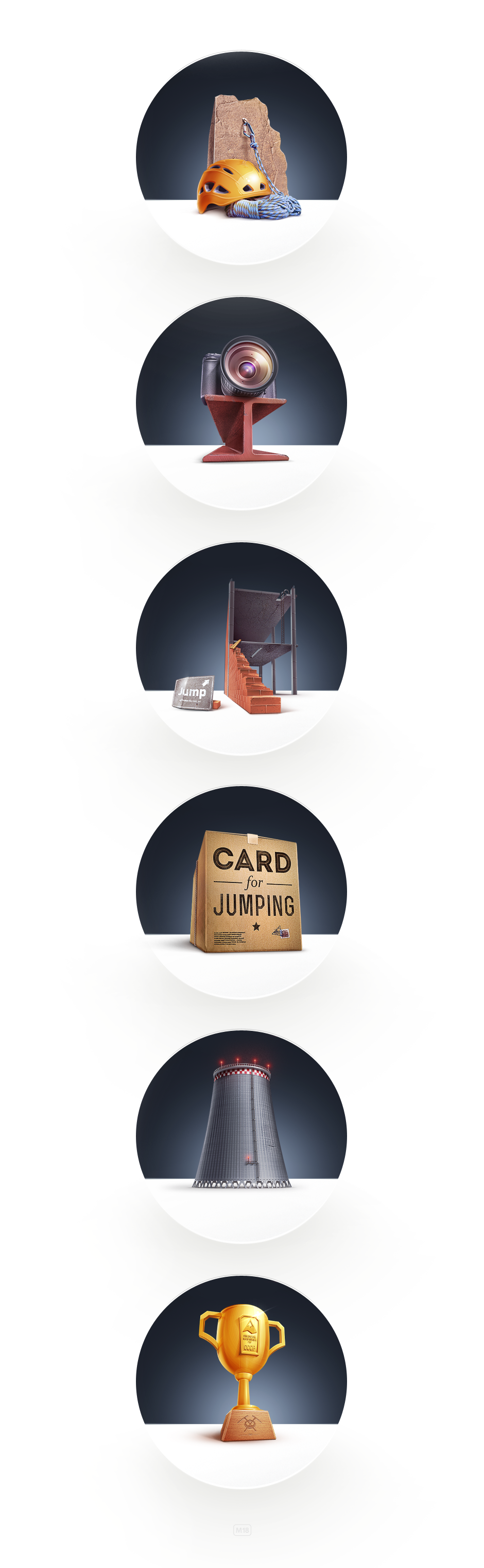 Jumping Icons